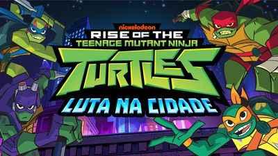 Jogo Tartarugas Ninja Luta na cidade Online Gratis