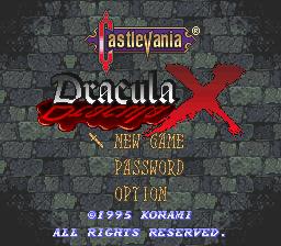Castlevania – Dracula X