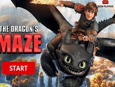 Dragões de Berk – The Dragons Maze – Labirintos