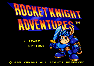 Jogo Rocket Knight Adventures Online Gratis