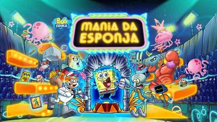 Bob Esponja Mania da Esponja