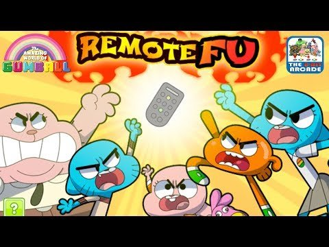 Jogo The Amazing World of Gumball: Fight for your Right to Watch TV Online Gratis