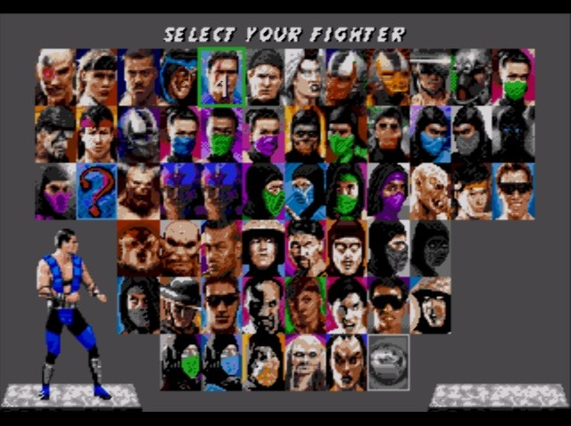 Jogo Ultimate Mortal Kombat 3 [Fighting] Online Gratis