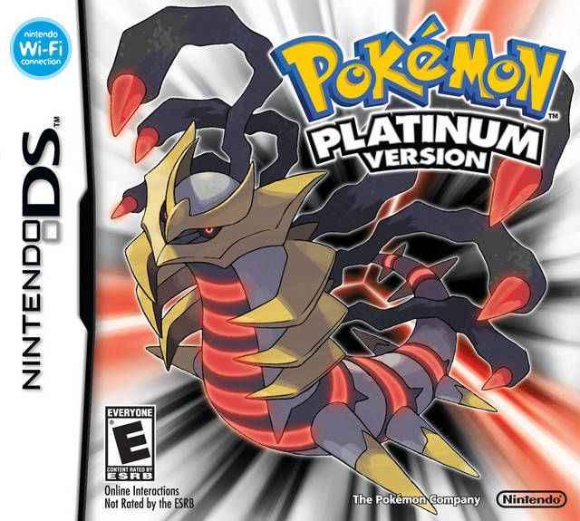 Jogo Pokemon – Platinum Version DS Online Gratis