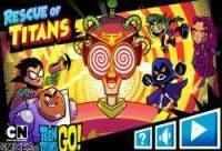 Jogo Teen Titans Go: Salve os Titãs Online Gratis