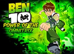 Jogo Ben 10: Power of the Omnitrix Online Gratis