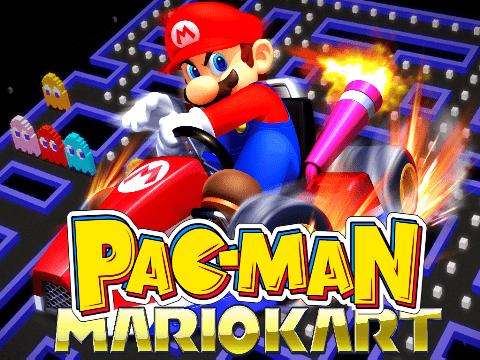 Mario Kart Pacman!