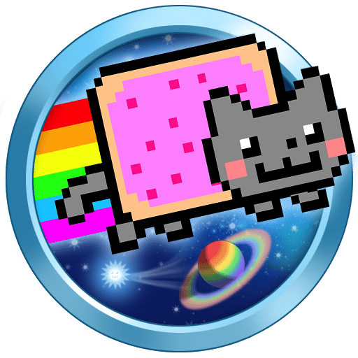 Jogo Nyan Cat: Lost In Space Online Gratis