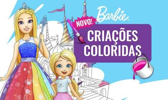 Criações Coloridas | Barbie