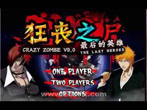 Jogo Crazy Zombie 9: The Last Heroes Online Gratis
