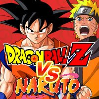 Jogo Dragon Ball Z VS Naruto CR: Vegeta Online Gratis
