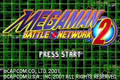 Jogo Mega Man Battle Network 2 Online Gratis