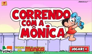 Jogo Correndo com a Mônica Online Gratis
