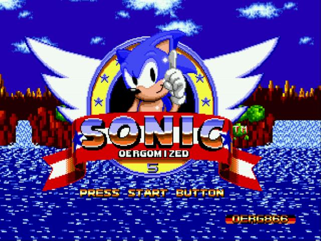 Sonic 1 Oergomized