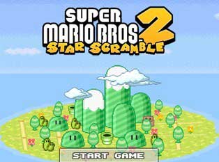 Super Mario Bros – Star Scramble 2