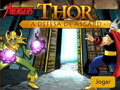 Thor a defesa de Asgard