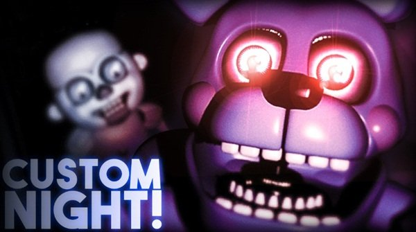 Jogo FNAF: Sister Location Custom Night Online Gratis
