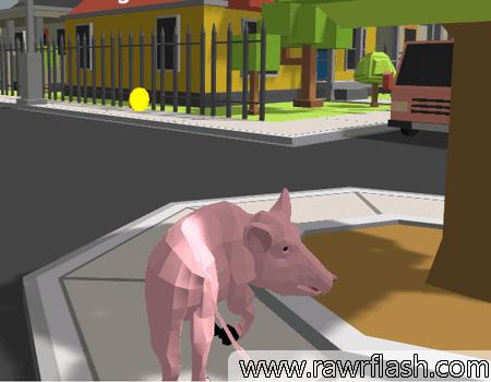 Simulador de Porco Louco