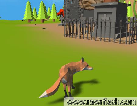 Jogo Simulador de Raposa Online Gratis