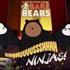 Shush Ninjas | Jogos Nós, os Ursos | Cartoon Network