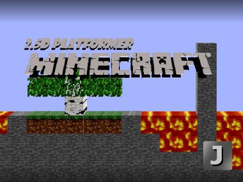 2.5D Minecraft Platformer