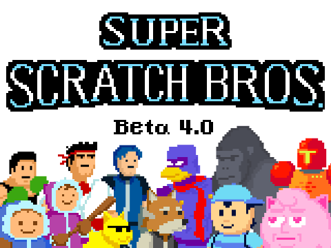 Jogo Super Scratch Bros Beta 4.0 Online Gratis