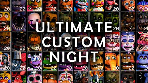 Jogo Ultimate Custom Night – FNAF Online Gratis