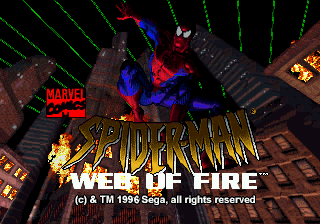 Jogo The Amazing Spider-Man – Web of Fire Online Gratis