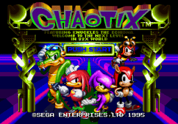 Chaotix ~ Knuckles' Chaotix