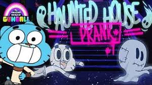 Jogo Gumball Haunted House Prank Online Gratis