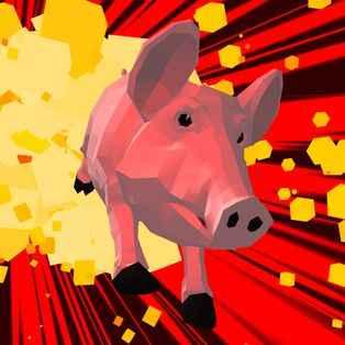 Jogo Crazy Pig Simulator Online Gratis