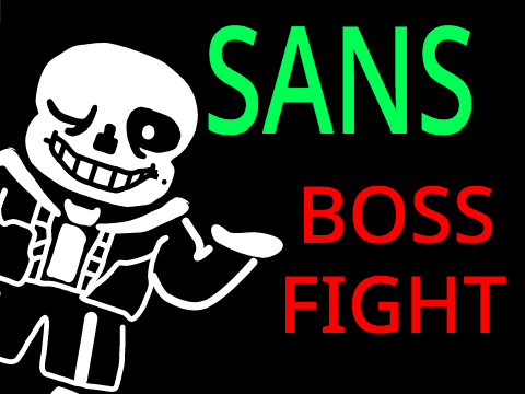 Undertale SANS BOSS FIGHT