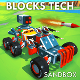 Jogo Block Tech : Epic Car Craft Simulator Online Gratis