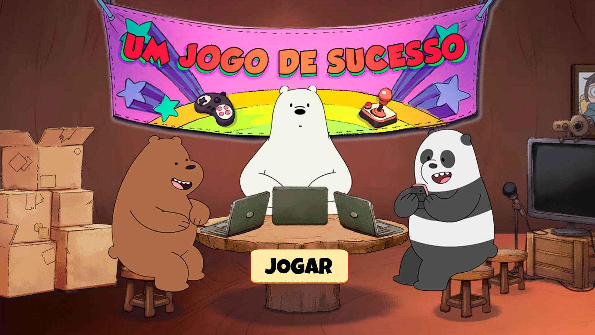 Ursos sem Curso : Um jogo bem-sucedido