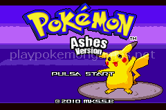 Jogo Pokemon Legendary Ashes (GBA) Online Gratis