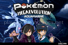 Jogo Pokemon Mega Evolution Aquamarine (GBA) Online Gratis
