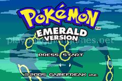 Jogo Pokemon Super Mega Emerald (GBA) Online Gratis