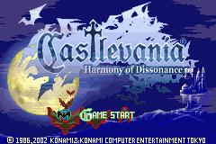 Jogo Castlevania – Harmony of Dissonance GBA Online Gratis