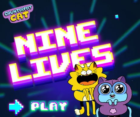 Jogo COUNTERFEIT CAT: NINE LIVES Online Gratis