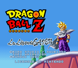 Dragon Ball Z – La Legende Saien