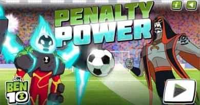 Jogo Ben 10: Penalidades Máximas Online Gratis