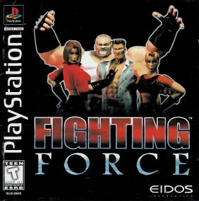 Jogo Fighting Force PS1 Online Gratis