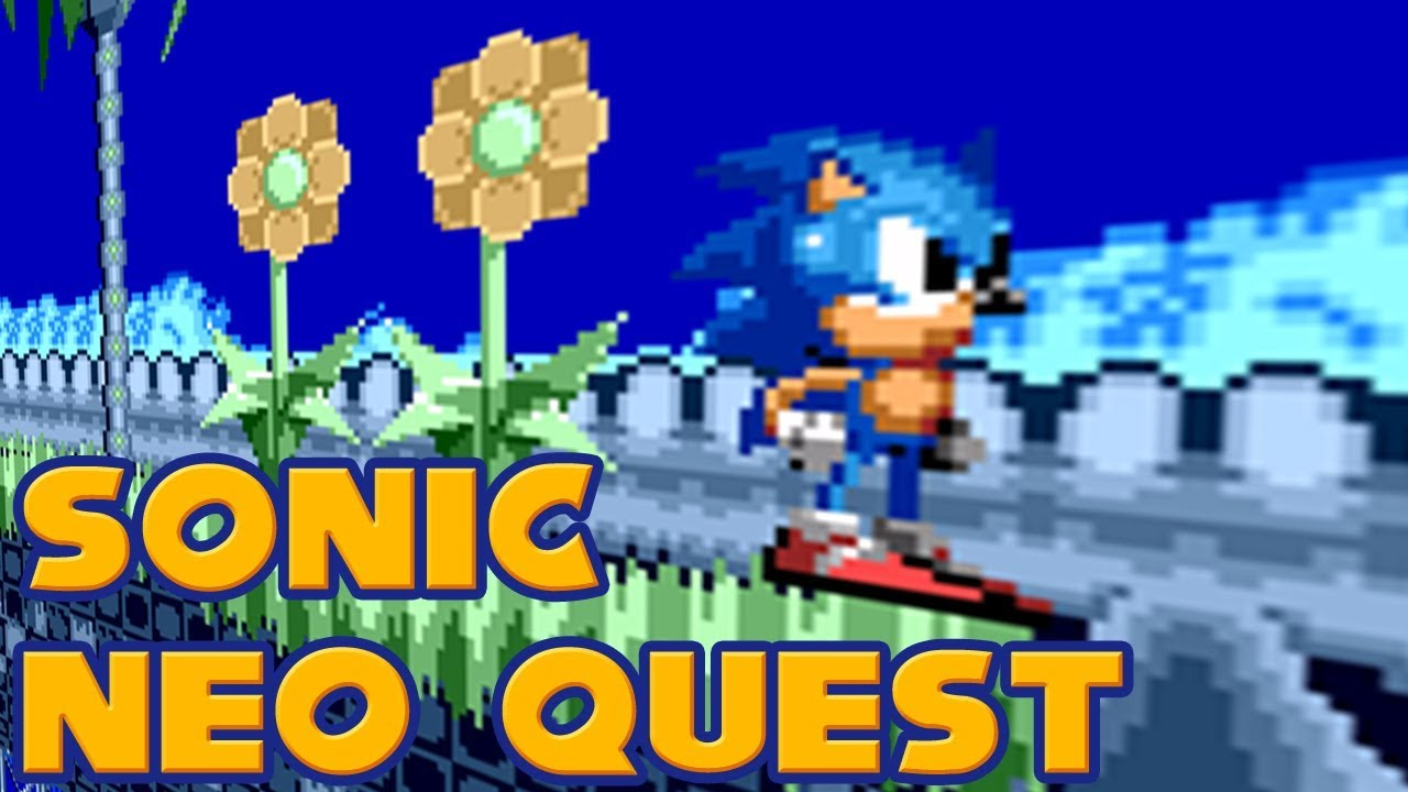 Jogo Sonic The Hedgehog: Neo Quest Online Gratis