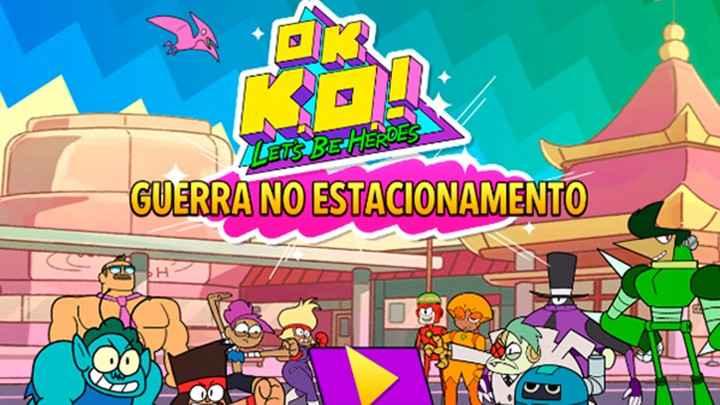 Jogo OK, KO! Guerra no Estacionamento Online Gratis
