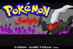 Jogo Pokemon Saiph Version Online Gratis