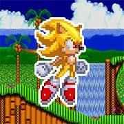 Super Sonic & Hyper Sonic in Sonic 1