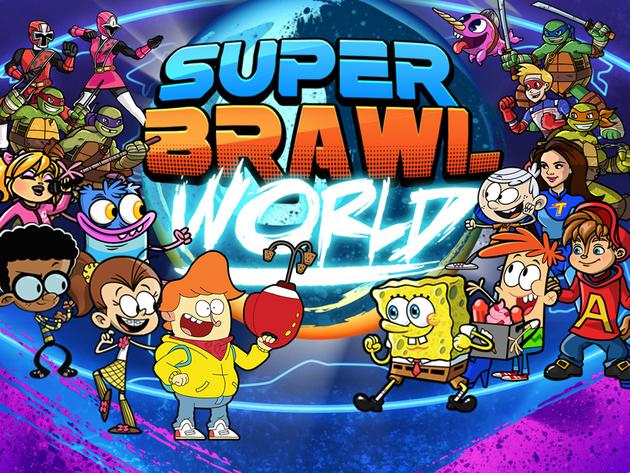 Jogo Nickelodeon: SUPER BRAWL WORLD Online Gratis