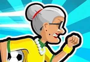 Jogo Angry Gran Run Brasil Online Gratis