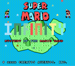 Super Mario Infinity 2: The Cursed Gem SNES
