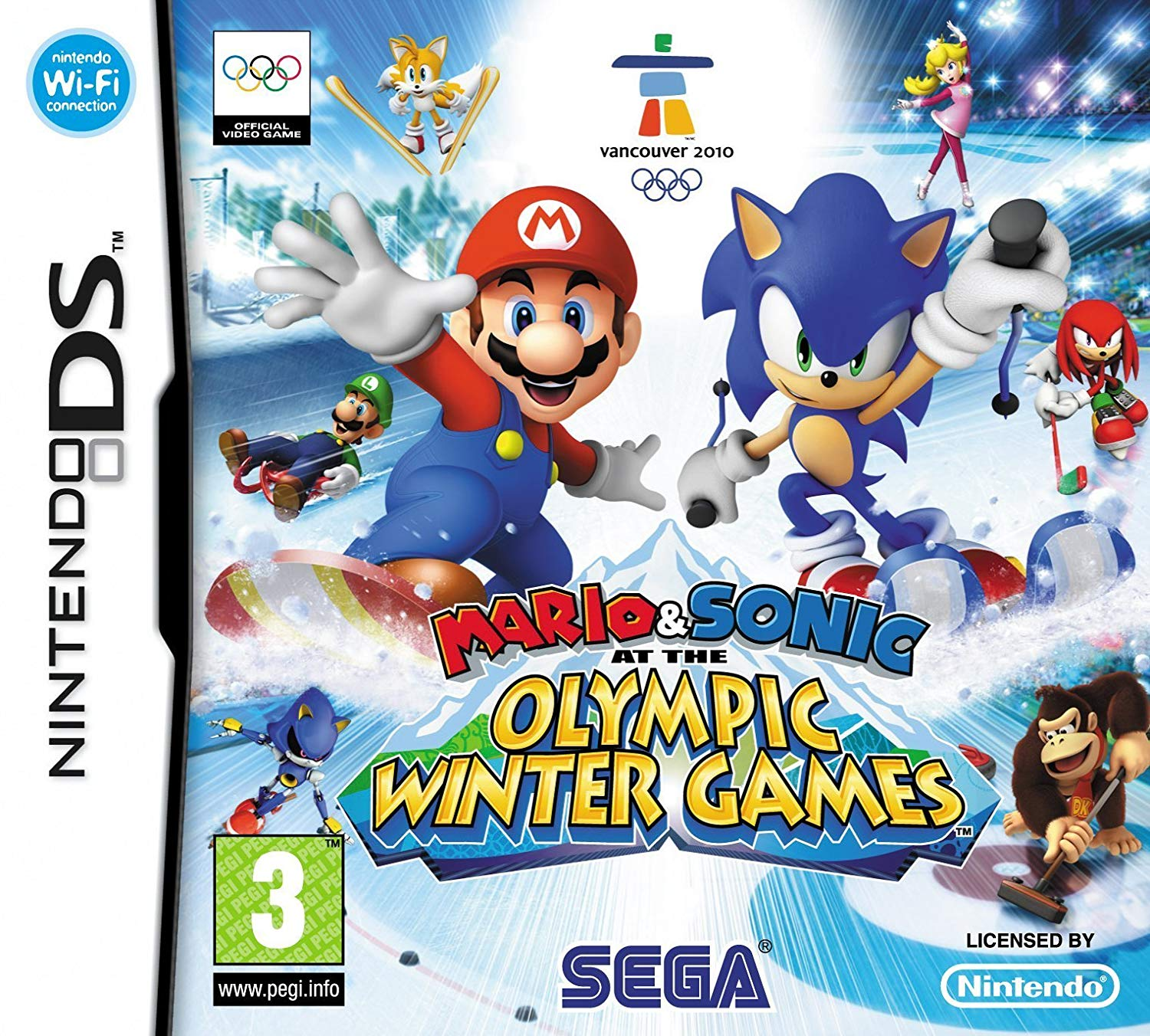 Jogo Mario & Sonic at the Olympic Winter Games Online Gratis